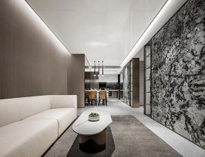 万象东方设计贾伟杰--中山懿臻山样板房