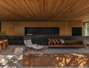 mf+arquitetos--巴西现代风格度假屋