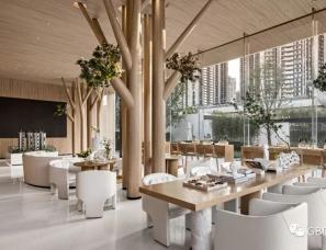 GBD设计--中海汇德理花园售楼部