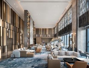YANG设计--重庆两江新区高科希尔顿酒店