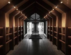 黑白木设计--大少普洱茶室