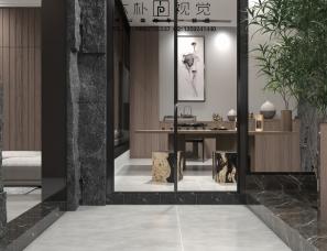 本朴视觉——中式别墅地下室
