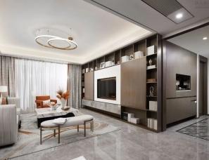 大研建筑设计--中海地产·西安熙峰里展示样板间
