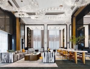 布鲁盟设计丨武汉越秀星云销售中心