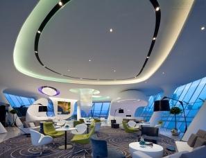 深圳李益中空间设计--二十五度海湾一号售楼处 海洋之心