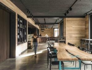 Walker Warner Architects + NICOLEHOLLIS--咖啡馆