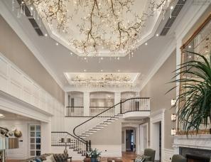 奇恩设计 --温州世锦园500m²别墅