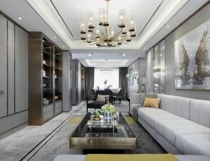 重庆世阆装饰设计--合能·西安铂悦府样板间