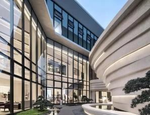 纳沃设计 | 博翠湾营销中心