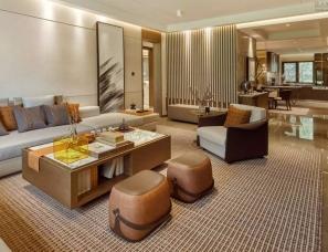 CCD香港郑中设计--北京亦庄·金茂府样板间150㎡