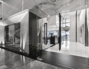 汉斯设计 | 宝能慧谷岩板展厅