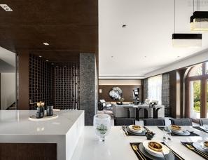赛瑞迪普设计--北京凯德麓语联排别墅500㎡