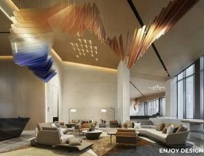 ENJOYDESIGN设计丨哈尔滨「金地·峯范」会所