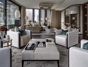 品质感做到极致的豪宅,细节都以美为准!