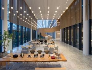 广州置美优合设计--保利 . 花城纪销售中心