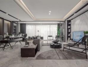 冯未墨设计--福星惠誉宁波山语江院样板房140m²户型