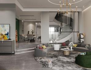 杭州中轶清庭设计||诺德上湖城排屋||400m²