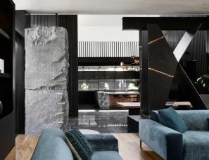Splinter Society Architecture--黑色极简住宅