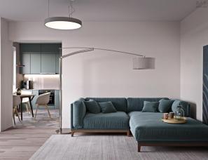 2套60平方米以下的单居室住宅设计