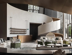 WJID维几设计--苏州富力天鹅港华庭售楼处