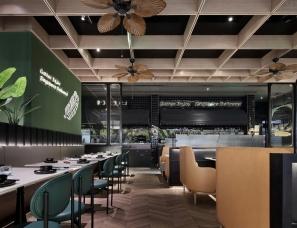 跟随'鱼尾狮'畅游新加坡风格餐厅