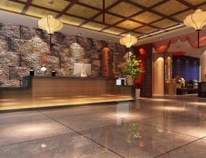 酒店大堂大厅设计案例效果图