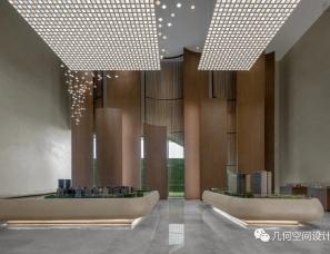 几何空间设计--龙湖金融岛城市展厅