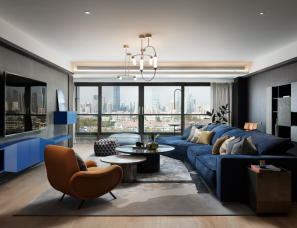 上海秀舍设计 | 95年轻精英温暖大平层 H先生的宅邸