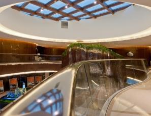 梁景华设计--336m²上海无钖保利达江湾城一期营销中心