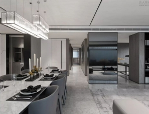 DIA丹健国际设计--成都合能铂悦华庭样板房