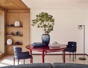 境物设计--上海浦东滨江顶层复式公寓室内改造