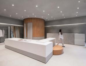 labotory--首尔 THE ILMA 品牌极简主义展厅