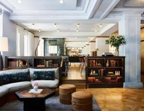 SL Design--巴尔的摩 Hotel Revival 百年私宅改造的精品酒店