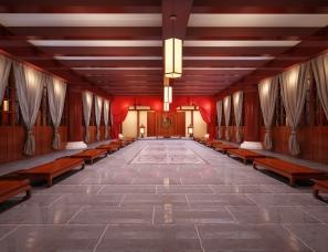 复古工装中式
