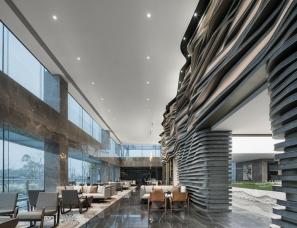 大伟室内设计+元禾大千--重庆融创文旅城曲水风和销售中心