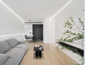 R'sYard缪茹空间设计| WH公寓-仙气满满的Simple life