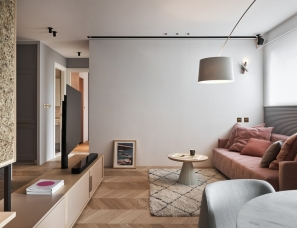 北鸥设计--浪漫而简约的小两口婚房