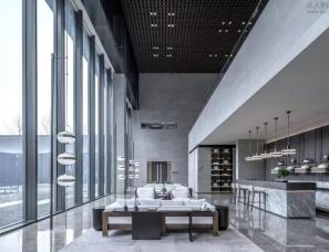 集艾设计+多莫斯设计--南昌九龙湖新旅•明樾台营销中心