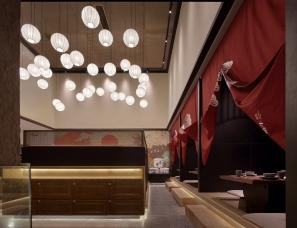 西餐厅和日料餐厅的融合设计:禧牛炙造