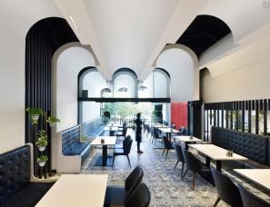 伊朗·Lomenz咖啡简餐店设计