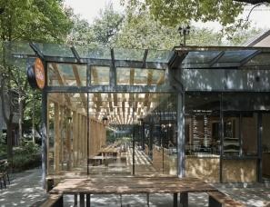 """小大建筑设计--""""谢谢""""生活咖啡馆"""
