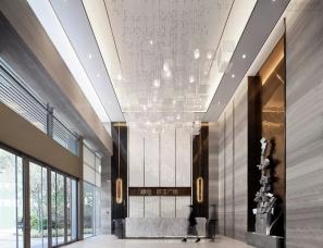 柏舍设计丨绿地熙江销售中心