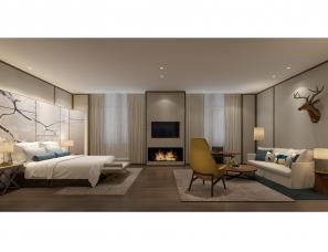 于强室内设计师事务所--伊春F酒店方案