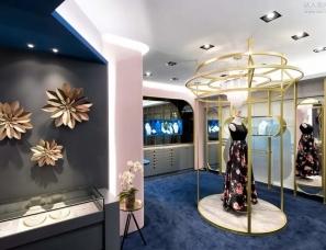 奇拓室内设计--像海之女神一样优雅的法式珠宝店