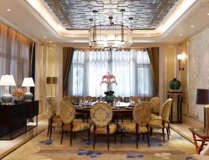 上海郑仕樑设计--天津天一绿海19#别墅会所