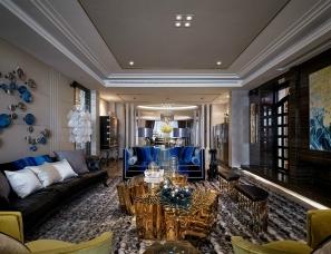 优加观念设计--浙江金华上林苑380户型样板房