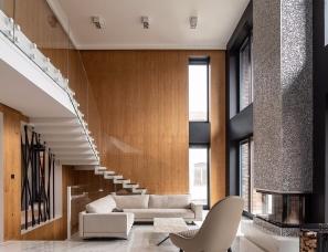 Sergey Makhno Architecs--乌克兰基辅私人住宅490㎡