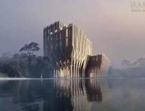 扎哈.哈迪德首个木结构作品:抚平了历史伤痕 感动了全世界