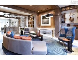 上海李懿恩设计--天伦庄园二期联排样板房