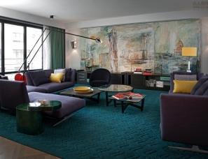 Kate Hume设计--建筑主义公寓